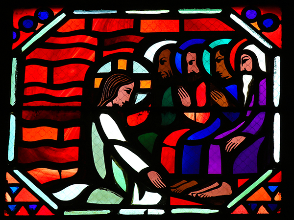 Jesus Washing Feet of Disciples